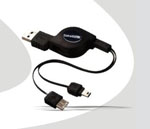 Cable USB a Mini USB Satellite AL-10 (5 P/Hembra)