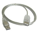 Cable USB 2.0 Alargue 1.50mts Int. Co (Mallado)