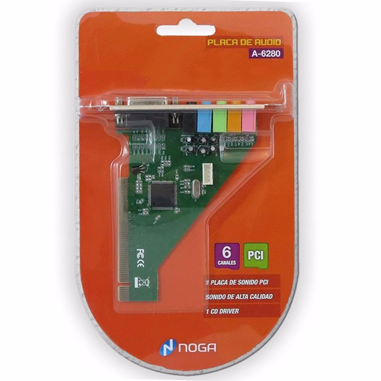 Placa de Sonido PCI Encore ENM232-8VIA (7.1)
