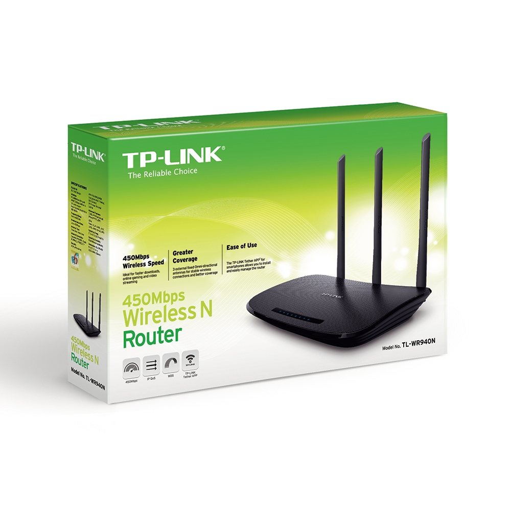 Router TP-Link TL-WR940N (N) Inalámbrico